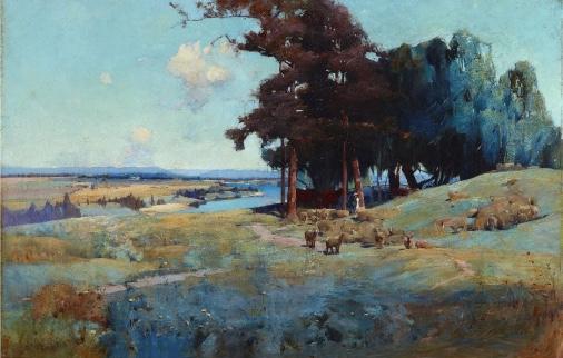 Midday Sydney Long 1896